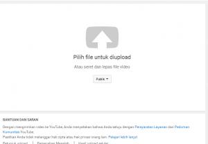 Cara Upload Video Youtube